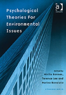 Psychological Theories for Environmental Issues, Hardback Book