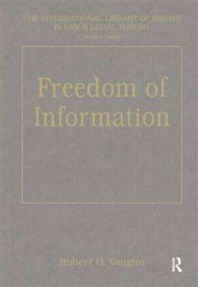 Freedom of Information : Local Government and Accountability, Hardback Book