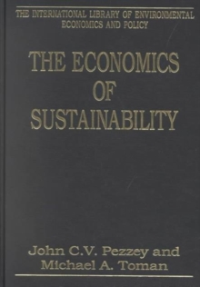 The Economics of Sustainability, Hardback Book