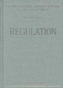 Regulation, Hardback Book