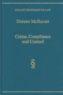 Crime, Compliance and Control, Hardback Book