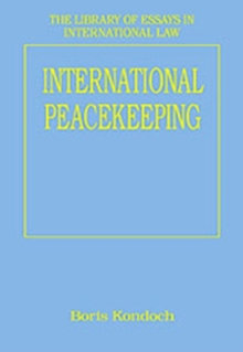 International Peacekeeping, Hardback Book