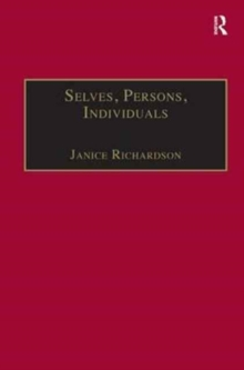 Selves, Persons, Individuals : Philosophical Perspectives on Women and Legal Obligations, Hardback Book