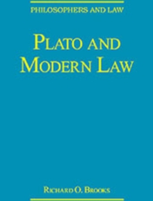 Plato and Modern Law, Hardback Book