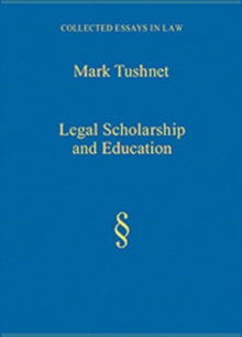 Legal Scholarship and Education, Hardback Book