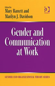 Gender and Communication at Work, Hardback Book