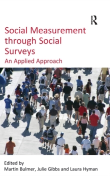 Social Measurement Through Social Surveys : An Applied Approach, Hardback Book