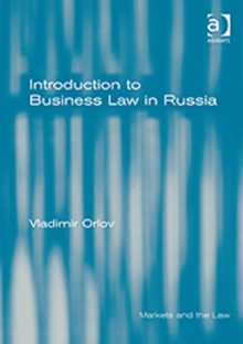 Introduction to Business Law in Russia, Hardback Book
