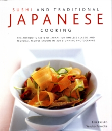 Sushi and Traditional Japanese Cooking, Hardback Book