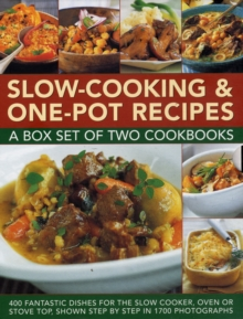 Slow-Cooking & One-Pot Recipes: A Box Set of Two Cookbooks, Hardback Book