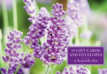 Tin Box of 20 Gift Cards and Envelopes: Lavender, Cards Book