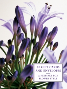 Tin Box of 20 Gift Cards and Envelopes: Flower Style, Cards Book