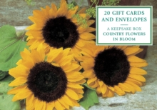 Tin Box of 20 Gift Cards and Envelopes: Country Flowers in Bloom, Cards Book