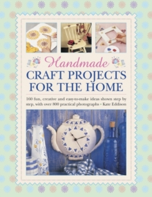 Handmade craft projects for the home, Hardback Book