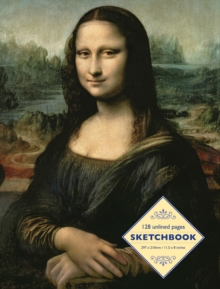 Sketchbook: Mona Lisa by Leonardo da Vinci, Spiral bound Book