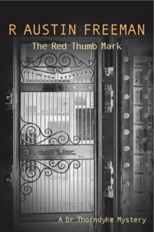 The Red Thumb Mark, Paperback Book