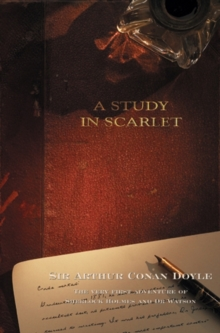 A Study In Scarlet, Paperback / softback Book