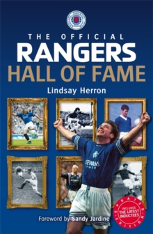 The Official Rangers Hall of Fame, Paperback Book