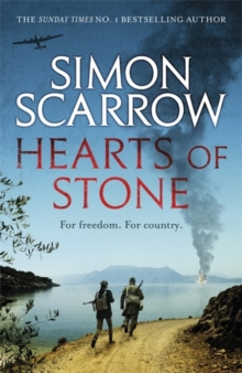 Hearts of Stone : A gripping historical thriller of World War II and the Greek resistance, Hardback Book