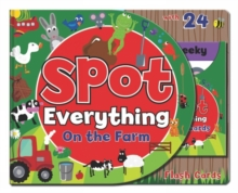 Spot Everything Book - Farm : Spot Everything with Flash Cards, Hardback Book