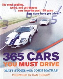 365 Cars You Must Drive, Paperback Book