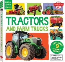 Tractors and Farm Trucks : Includes 9 Chunky Books, Hardback Book