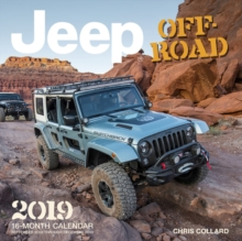 Jeep Off-Road 2019 : 16-Month Calendar September 2018 through December 2019, Calendar Book