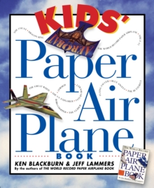 Kid's Paper Airplane Book, Paperback Book