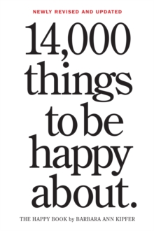 14,000 Things to Be Happy About, Notebook / blank book Book