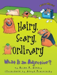 Hairy, Scary, Ordinary : What is an Adjective, Paperback / softback Book