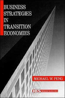 Business Strategies in Transition Economies, Paperback / softback Book