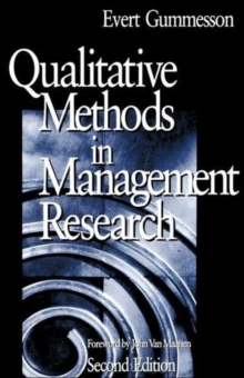 Qualitative Methods in Management Research, Paperback Book