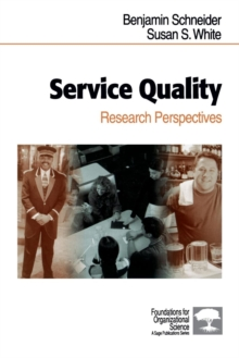 Service Quality : Research Perspectives, Paperback Book