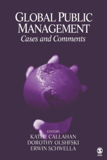 Global Public Management : Cases and Comments, Paperback Book