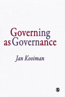 Governing as Governance, Paperback / softback Book
