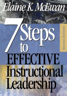 Seven Steps to Effective Instructional Leadership, Paperback Book