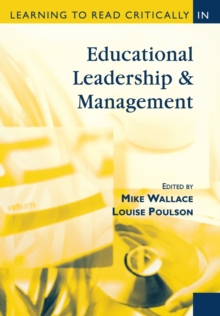 Learning to Read Critically in Educational Leadership and Management, Paperback Book
