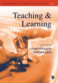 Learning to Read Critically in Teaching and Learning, Paperback Book