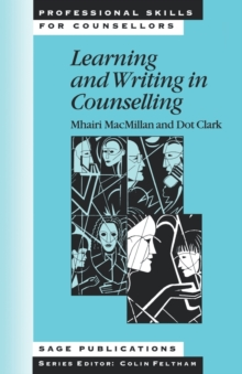 Learning and Writing in Counselling, Paperback Book