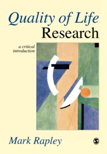 Quality of Life Research : A Critical Introduction, Paperback / softback Book