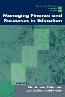 Managing Finance and Resources in Education, Paperback Book
