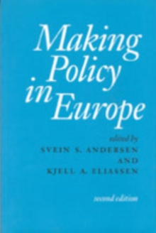 Making Policy in Europe, Paperback / softback Book