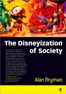 The Disneyization of Society, Paperback Book