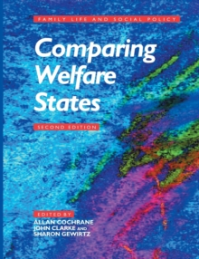Comparing Welfare States, Paperback / softback Book