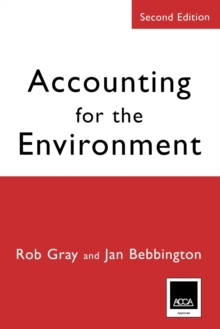 Accounting for the Environment, Paperback Book