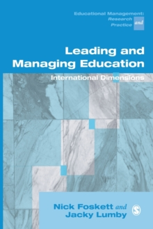 Leading and Managing Education : International Dimensions, Paperback / softback Book