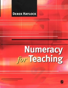 Numeracy for Teaching, Paperback / softback Book
