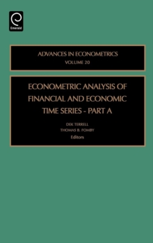 Econometric Analysis of Financial and Economic Time Series, Hardback Book