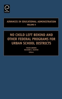 No Child Left Behind and Other Federal Programs for Urban School Districts, Hardback Book
