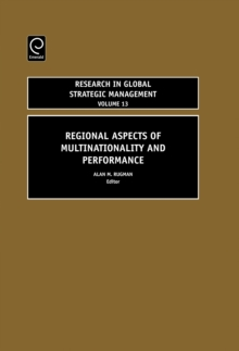 Regional Aspects of Multinationality and Performance, Hardback Book